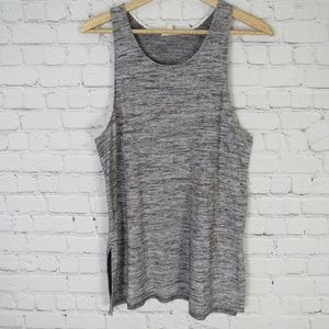 Wilfred Free Tank Top Womens Small S Gray